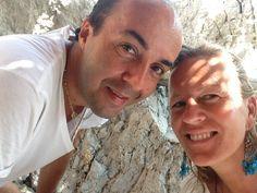 Con il grande Francesco Scognamiglio, a Capri