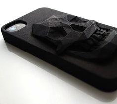 3D Printed Skull iPhone Case – $65