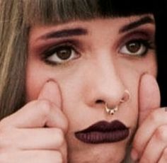 Dark Paradise, Cry Baby, Angel, Nails, Makeup, Pictures, Queen, Finger Nails, Make Up