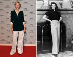 Cate Blanchett = de hedendaagse Katharine Hepburn.