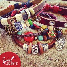 #New #Boho Bracelets! #Red #Butterfly