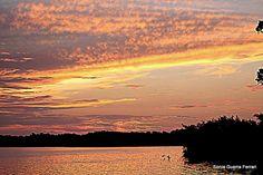 tramonto in laguna  Cuba