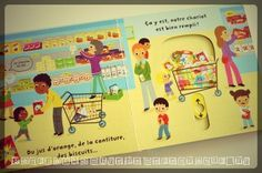 Mon supermarché animé Editions Nathan