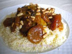 Tajine de dinde aux abricots et aux pignons de pin, Recette Ptitchef