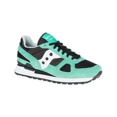 3a18fb978805 Men s Saucony Shadow Original Sneaker - Black Aqua Athletic ( 70) ❤ liked on