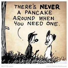 What do you put in your favorite pancakes on National Pancake Day? MUTTS by Patrick McDonnell Funny Cartoons, Funny Cats, Funny Animals, Mutts Comics, Tomorrow Is Another Day, I Believe In Pink, Best Friends For Life, Healing Quotes, The Kingdom Of God