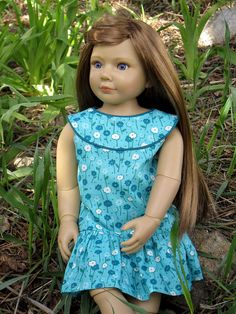 April snowstorms bring…May flower dresses! | Wren*Feathers free pattern