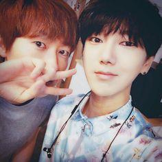 Eunhyuk and Yesung