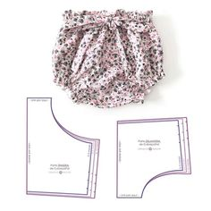 Best 12 Baby Toddler Bloomers pattern, High Waisted Bloomer PDF, Bloomers pattern, Baby shorts pattern, Diap – Page 835628905843787136 – SkillOfKing. Baby Dress Patterns, Baby Clothes Patterns, Sewing Patterns For Kids, Clothing Patterns, Sewing Ideas, Baby Pants Pattern, Sewing Projects, Sewing Baby Clothes, Baby Sewing