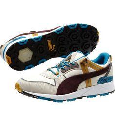 Trinomic Trail Lo Sneakers in birch-turkish tile-steel grey-winetasting #PUMA #mens #shoes $85.00
