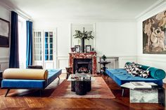 Hilary Swank Just Finished Decorating Her Paris Apartment—and AD Gets the First Look