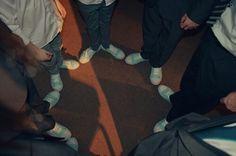 Mint converse wedding,  the groomsmen