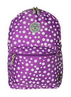 Purple Polka Dots Backpack