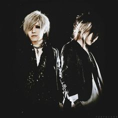 Aoi & Uruha. The GazettE
