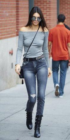 Kendall Jenner / off shoulder top