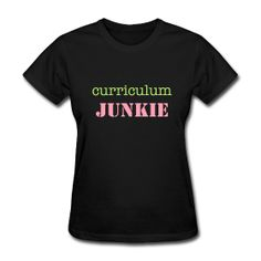 Curriculum Junkie- Okay, I admit it. I have issues :)