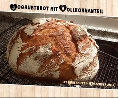 Rezept JOGHURTBROT mit Vollkornanteil von Thermifee - Rezept der Kategorie Brot & Brötchen