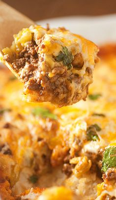 Bubble Up Enchilada Bake Recipe