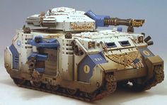 40k - Ultramarines Predator