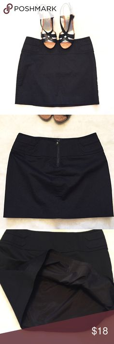"""❣BOGO 1/2 off❣🆕Express black stretch mini skirt 🔴I do not model.🔴 NWOT, flawless. Stretchy cotton/spandex blend, fully lined. Back zip closure. Size 2. Approx 14"""" long & 28"""" waist. ✖️I do NOT MODEL✖️ 🔴Bundle to save! 🔴NO TRADES. 🔴REASONABLE offers welcome via offer button. Express Skirts Mini"""