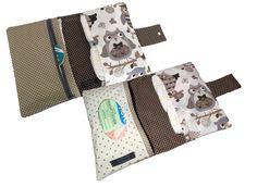 Nähanleitungen Taschen - E-Book Windeltasche #Reißverschluss, #Windeltasche, #Feuchttuchfach