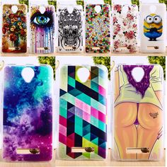 DIY Painted Soft TPU Phone Cover For Fly iq4514 iq 4514 evo tech 4 tech4 Cases Deluxe Vintage Elegant Phone Skin
