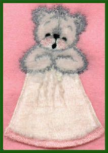 Threadsketches' Bearly Christmas, Christmas embroidery designs, angel bear