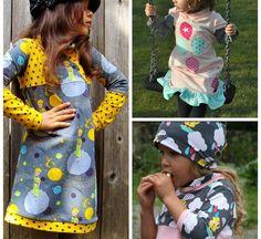 sweat dress - Kleid Freebook