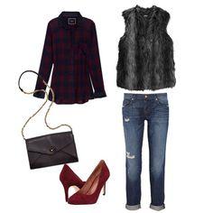 How to Wear a Fur Vest | Fall 2012 | POPSUGAR Fashion