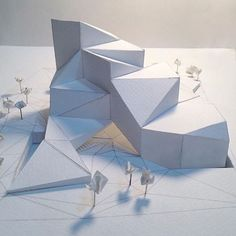 Super origami architecture design projects 20 Ideas Ideal Origami Report Origami is one associated with the most delicate kinds of … Architecture Pliage, Architecture Paramétrique, Maquette Architecture, Contemporary Architecture, Computer Architecture, Architecture Definition, Architecture Model Making, Minecraft Architecture, Architecture Student