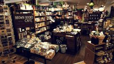 Brown Books Cafe / Sapporo - Japan.
