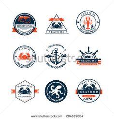 Seafood Vectores en stock y Arte vectorial | Shutterstock