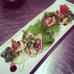 #tuna #tataki #hyakumizu #magdeburg #qilin #food  #foodporn #lecker #sushi #sashimi by hoangabi