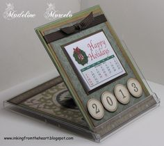 Inking from the Heart: CALENDAR CD Case