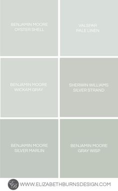 Benjamin Moore Gray Whisp for bedroom night stands Greige Paint Colors, Interior Paint Colors, Paint Colors For Home, House Colors, Paint Colours, Stain Colors, Wall Colors, Blue Green Paints, Blue Gray Paint