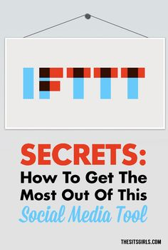 Social Media Tips | How to use IFTTT Recipes to manage your social media, post to your blog, and more!