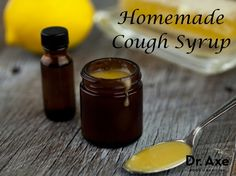 Homemade Cough Syrup  http://www.draxe.com #homemade #DIY #essentialoils #natural #health #cough #remedy