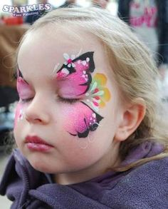 face painting ideas for kids butterfly by kathy