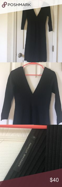 Adrienne Vittadini sweater dress. Worn once.  Adrienne Vittadini sweater dress.  Size small. Adrienne Vittadini Dresses