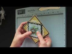 Diamond Fold Card  use S U supplies