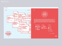The Mohawk Show 2015: Reminder Service on Behance