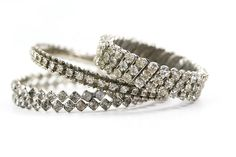 vintage rhinestone bracelets