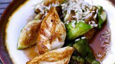 Rezept: Gebratenes Hähnchen mit Feigen