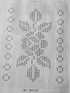 Here you can look and cross-stitch your own flowers. Cross Stitch Bookmarks, Cross Stitch Rose, Cross Stitch Borders, Cross Stitch Flowers, Cross Stitch Designs, Cross Stitching, Cross Stitch Embroidery, Hand Embroidery, Cross Stitch Patterns