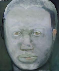 Image detail for -marlene dumas portrait of kendell geers 2004 watercolour 60 8