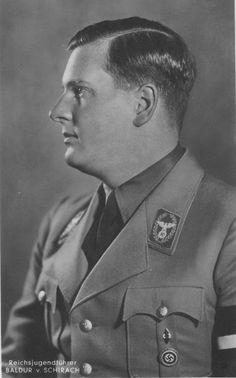 Reichsstatthalter und Gauleiter von Wien (Governor of Vienna) und Reichsjugendführer Baldur von Schirach