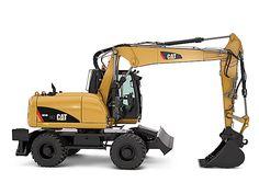 Cat   M313D Wheel Excavator   Caterpillar