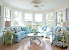 Flora Wedge Sofa | Maine Cottage