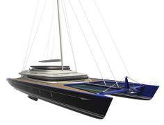 Catamarán de crucero (velero, en composito) BLUE COAST 165' Blue Coast Yachts