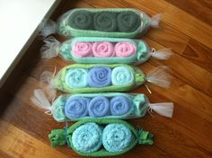Peas in a Pod Baby shower gifts!